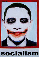Obama Joker Poster Artist Exposed As Liberal-Leaning Palestinian