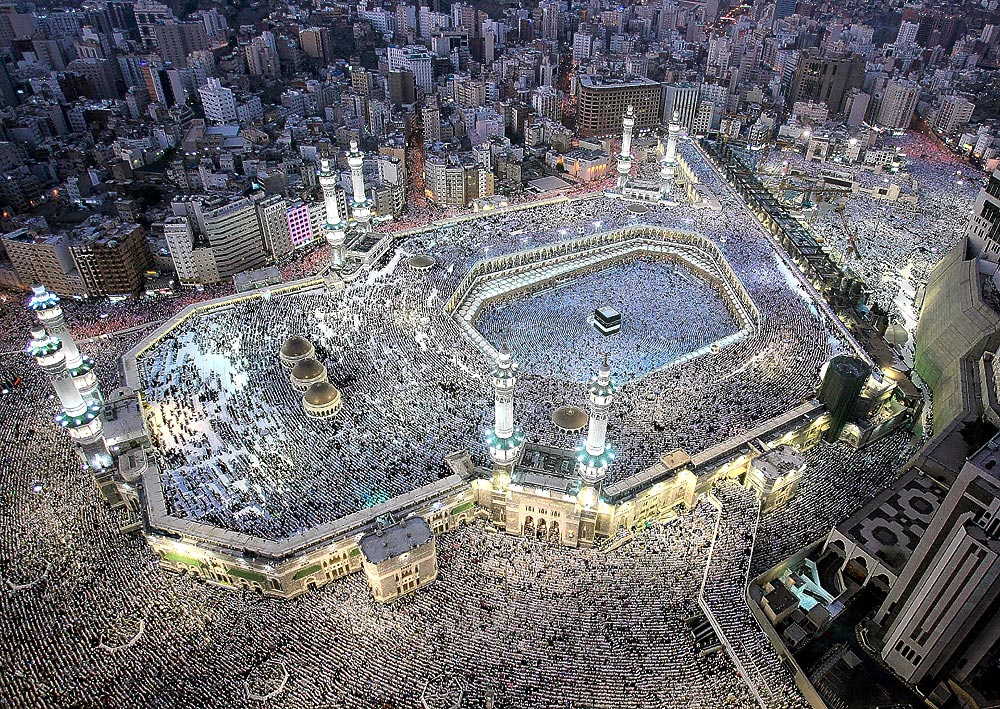 Grand Mosque of Mecca. Due to the fear of a death threat in the form of a