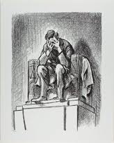 Lincoln Weeping