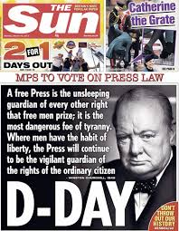 Churchill Freedom of the Press