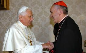 Pope Benedict and Former Pope Francis