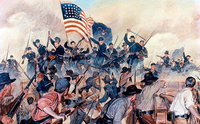 First Assault at Vicksburg
