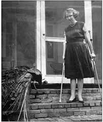 Flannery O'Connor and Friend