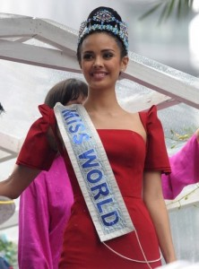 PHILIPPINES-LIFESTYLE-MISSWORLD-YOUNG