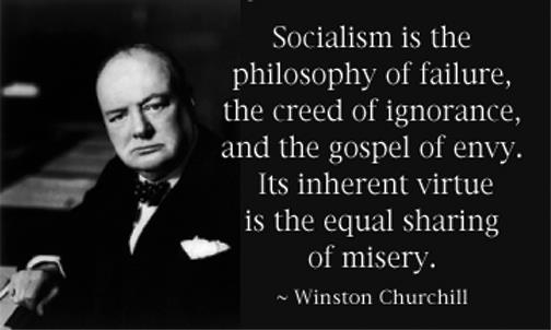 Winston Churchill On Socialism