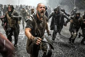 Audience stampeding from Noah film