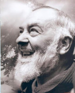 Laughing Padre Pio