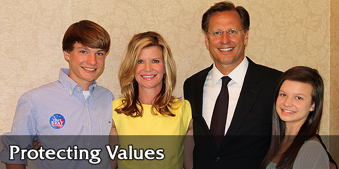 Dave Brat and Family