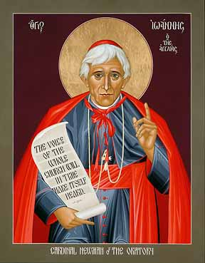 Cardinal Newman Icon Tall Pic