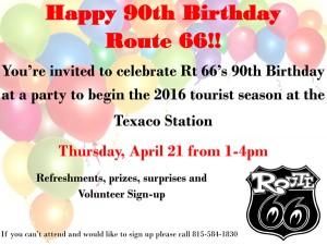 Texaco90thBdayInvite